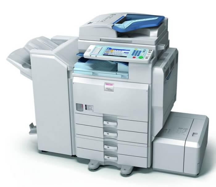 Thông số kỹ thuật của máy photocopy Ricoh Aficio MP 4000