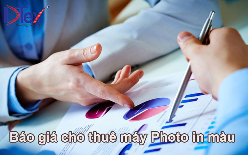 Báo giá cho thuê máy Photo copy