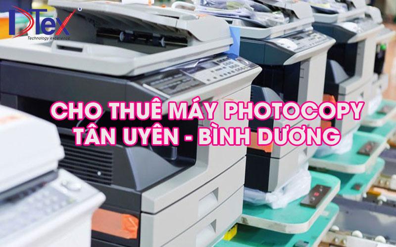 Cho thuê máy Photo tại Tân Uyên Bình Dương