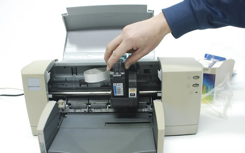 cách thay mực máy photocopy