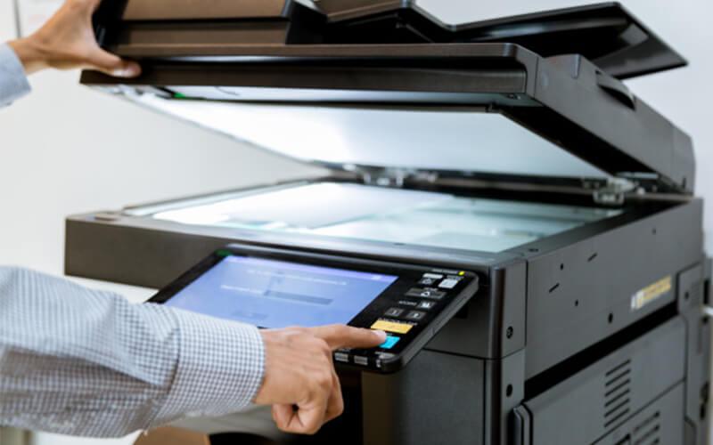 khắc phục máy photocopy không lên nguồn