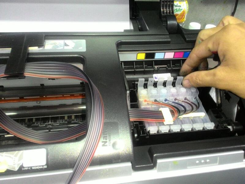 Cách khắc phục lỗi máy photo bị nhòe chữ và sọc mờ, sọc đen