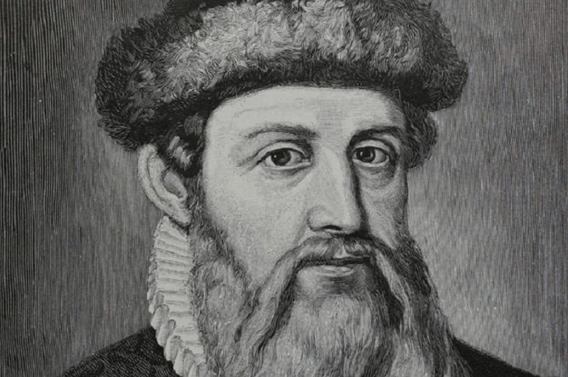 Johann. Gutenberg