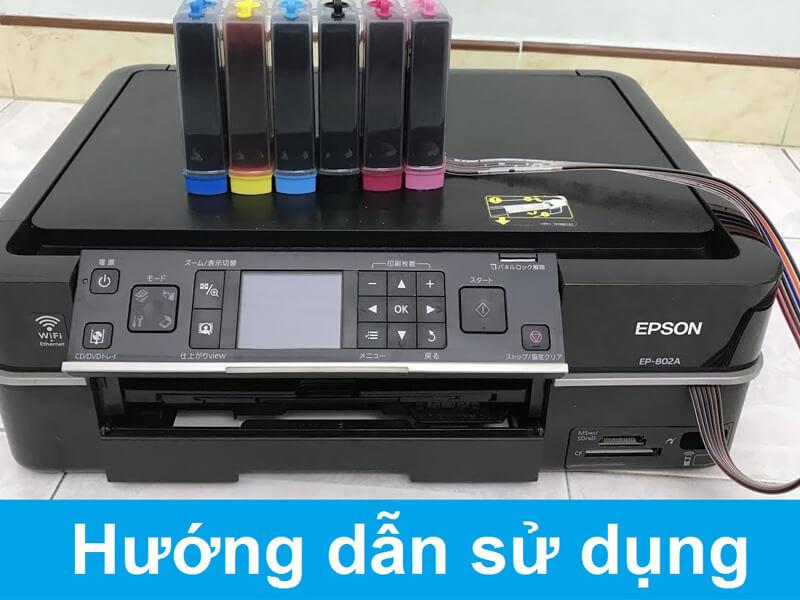 cách sử dụng máy in màu hiệu quả