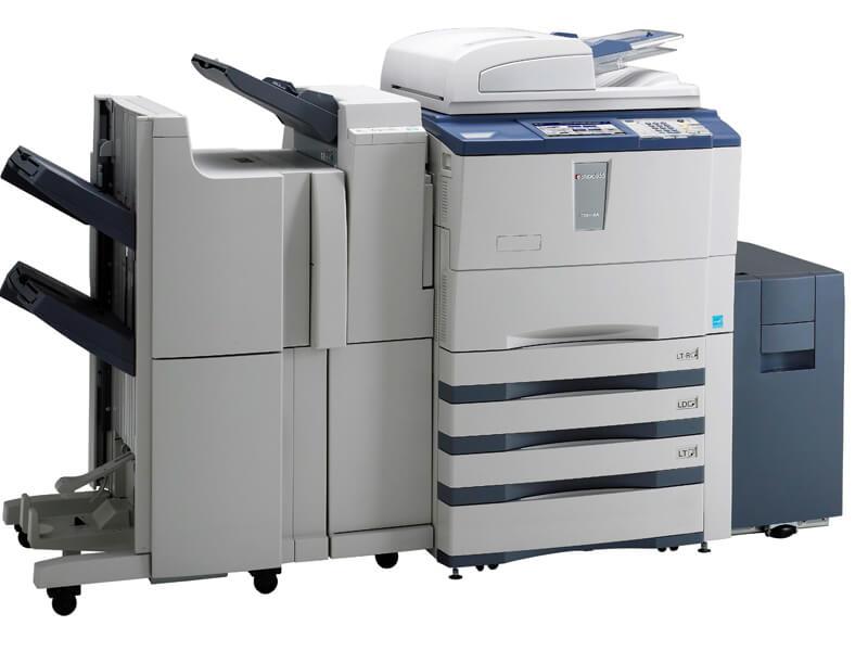 Máy photocopy Toshiba bị treo