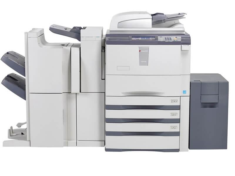 Máy photocopy Toshiba không lên nguồn và không khởi động được