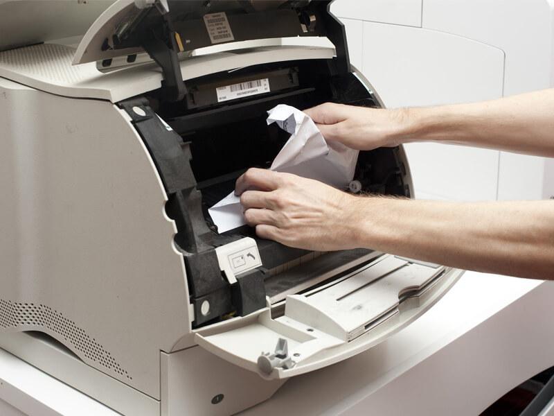 Nguyên nhân và cách xử lý máy photocopy bị kẹt giấy