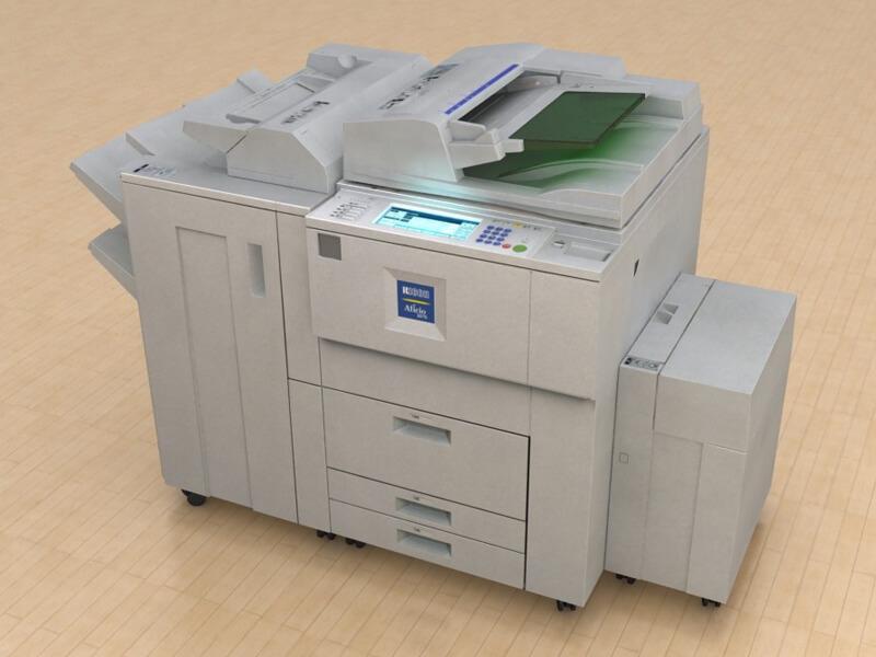 hình ảnh minh họa về máy photocopy ricoh