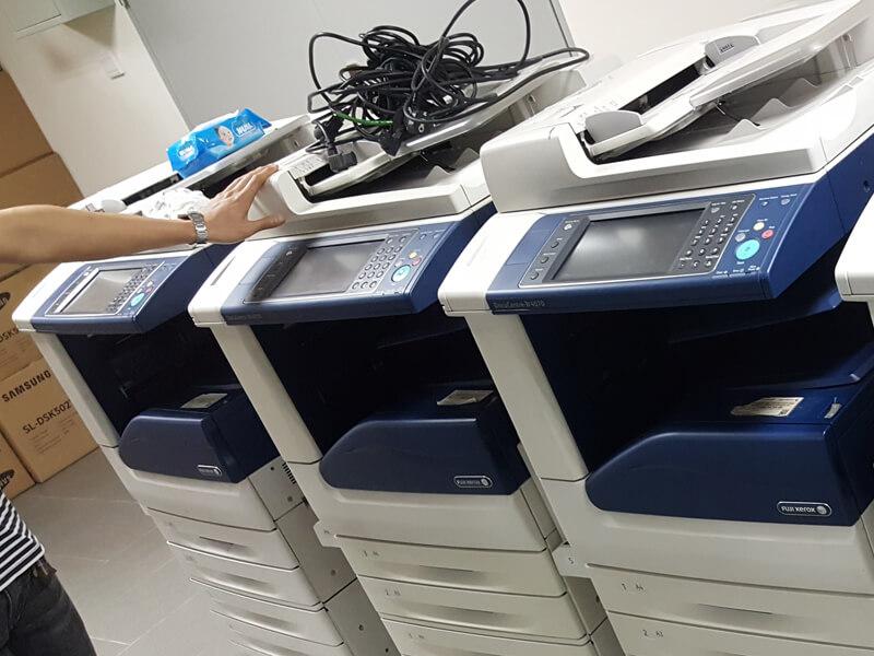 Nơi cho thuê máy photocopy Fuji Xerox chính hãng, giá rẻ