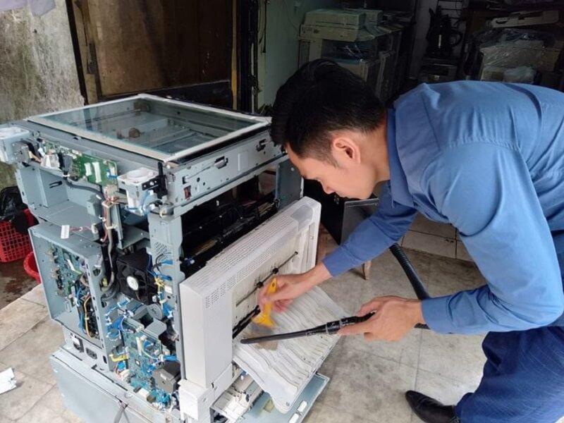 Cách xử lý tình trạng máy photocopy Ricoh bị mờ