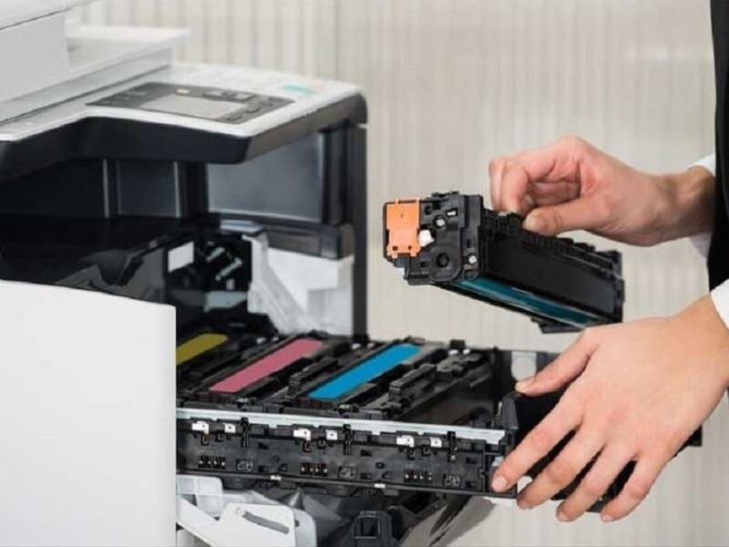 Lý do máy photocopy không nhận mực in