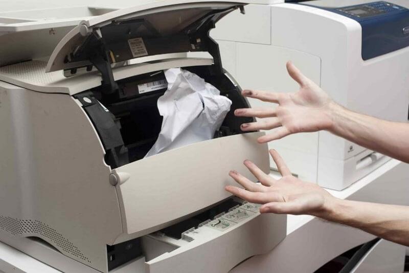 Lỗi bộ phận kéo giấy