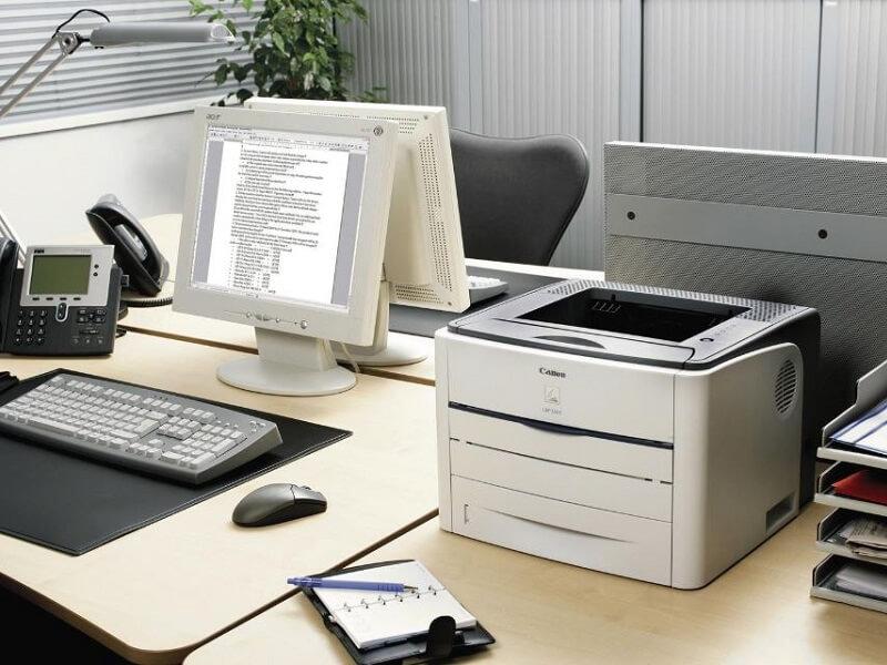 Máy photocopy để bàn giúp tiết kiệm diện tích