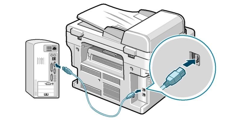Đảm bảo kết nối ổn định giữa máy tính và máy photocopy