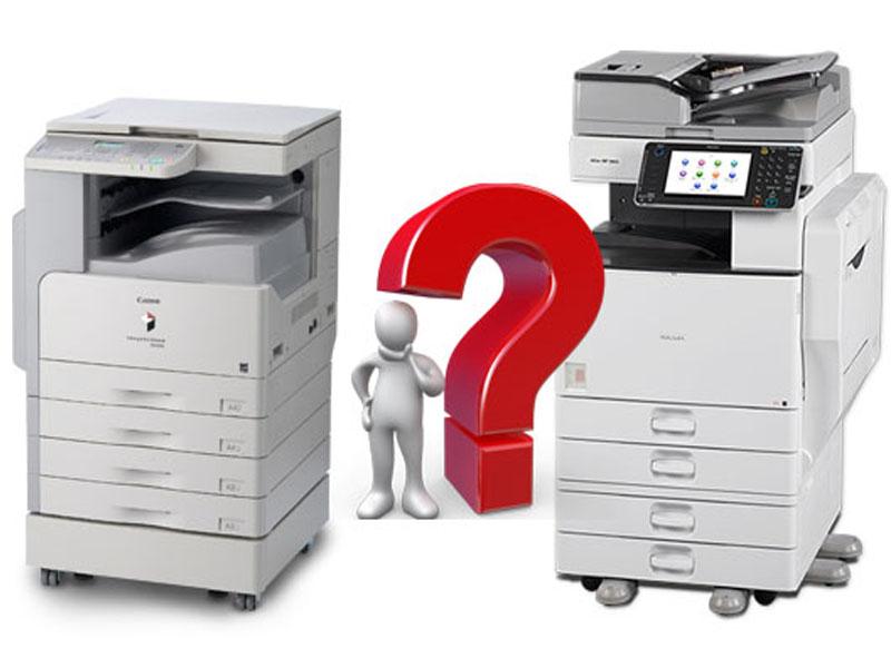 Canon với các máy photocopy đa dạng mẫu mã, chức năng