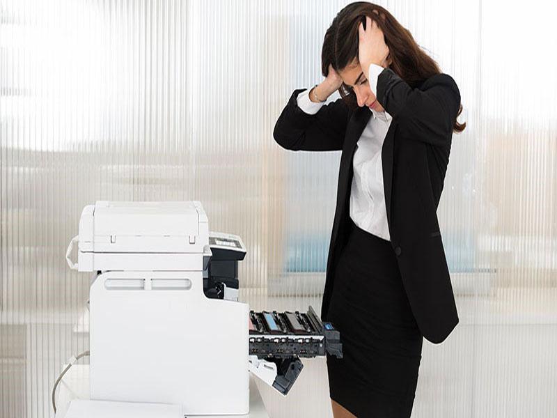 In chậm là một trong số những vấn đề phổ biến của máy photocopy