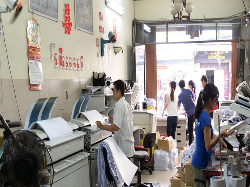 Mở tiệm photocopy tại nhà kiếm thêm thu nhập