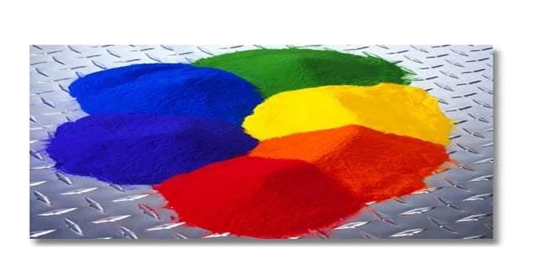 Mực bột nhiều màu sắc