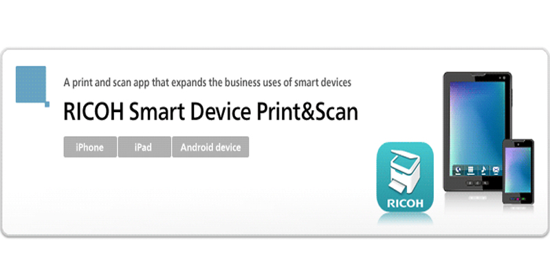 Ricoh smart device print & scan