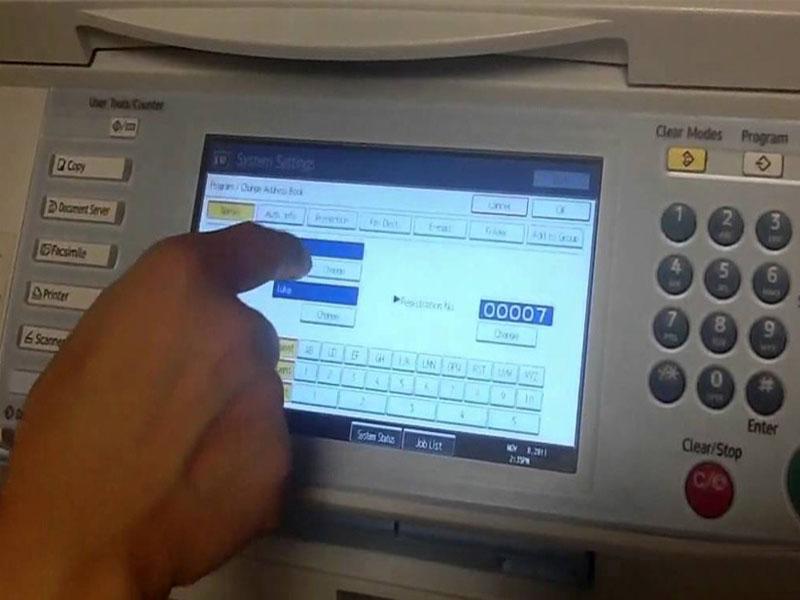 Scan trả về 1 file tài liệu