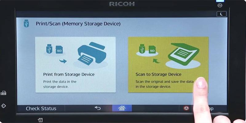 Scan tài liệu từ thiết bị di động