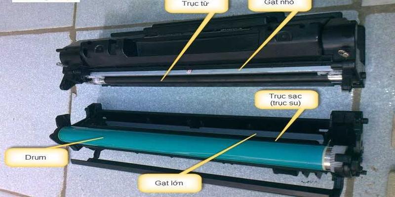 Trống máy là bộ phận quan trọng nhất của máy photocopy