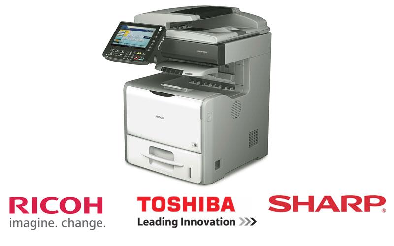 Các hãng máy Photocopy