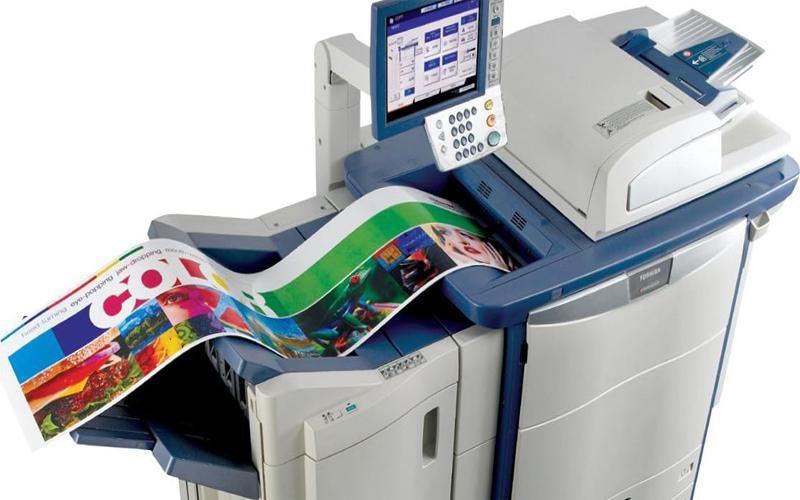 Chỉ cần thao tác đơn giản, bạn sẽ cho ra đời bản in sắc nét bằng máy photocopy in màu