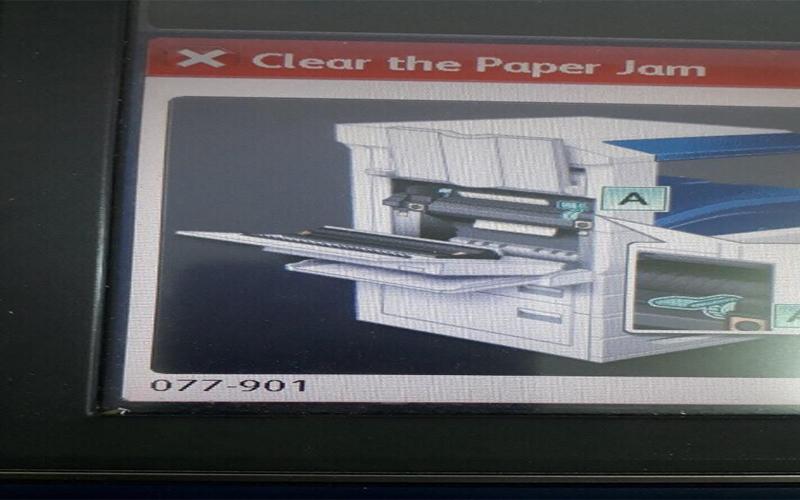 Hết mực cũng là một trong những nguyên nhân dẫn đến kẹt giấy