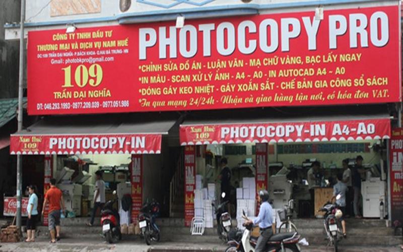 Mở tiệm photocopy có khó không