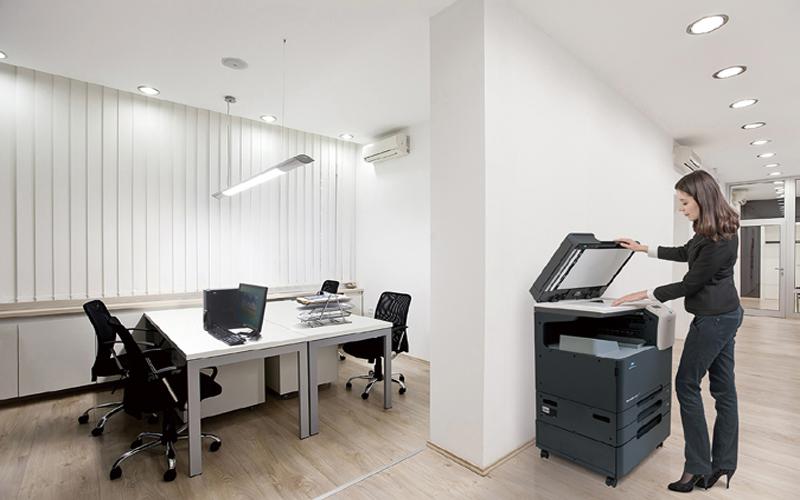 Không nên đặt máy photocopy quá gần nơi làm việc vì có thể gây ồn