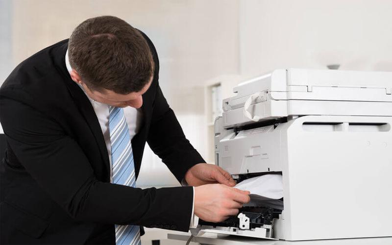 Xử lý ngay nếu máy xuất hiện tình trạng kẹt giấy