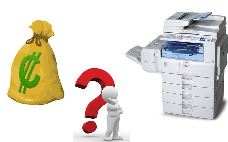 Tiết kiệm chi phí khi thuê máy photocopy