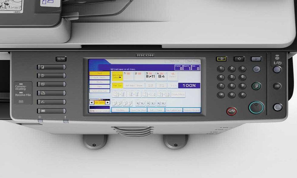 Các phím chức năng trên máy photocopy Ricoh