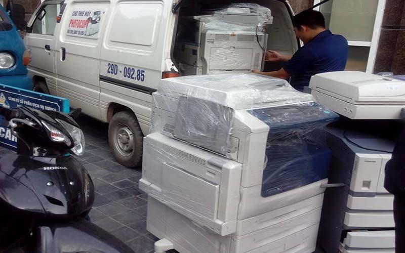 Lo lắng về việc vận chuyển máy Photocopy