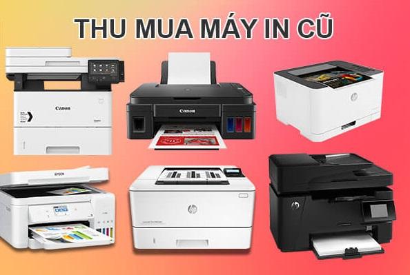 Quốc Kiệt chuyên thu mua tất cả các dòng máy in cũ và thiết bị văn phòng