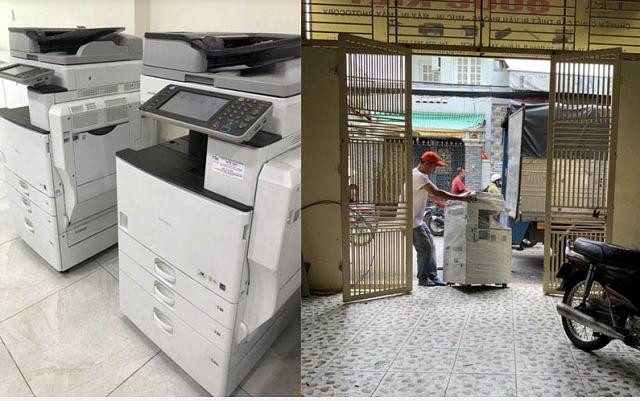 Nhân viên của Quốc Kiệt sẽ đến tận nơi để thu mua máy in cũ